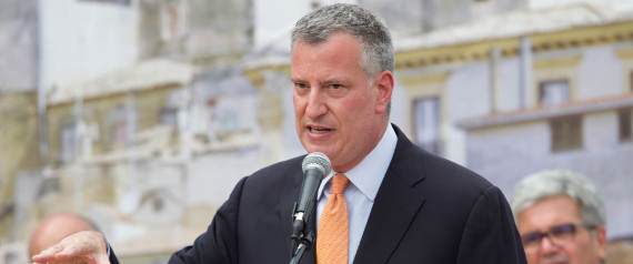 New York City Mayor Bill de Blasio Visits His Grandmother's Town Grassano And Receives Honorary Citizenship